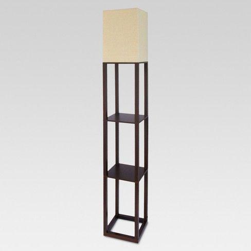 Shelf Floor Lamp Threshold Floor Lamp With Shelves Floor Lamp Black Floor Lamp