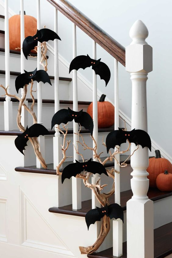 54 Easy Halloween Decorations - Spooky Home Decor Ideas for Halloween