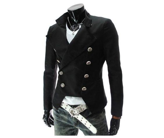 Leather Jacket Black // Brown // Tan Color Leather Jacket Men ...