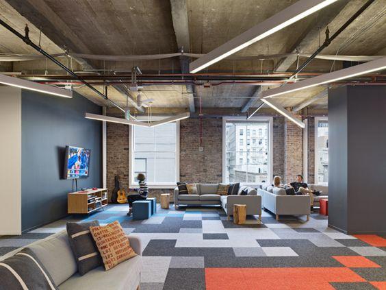 Office interior design inspiration pocket gems san - Office interior design san francisco ...