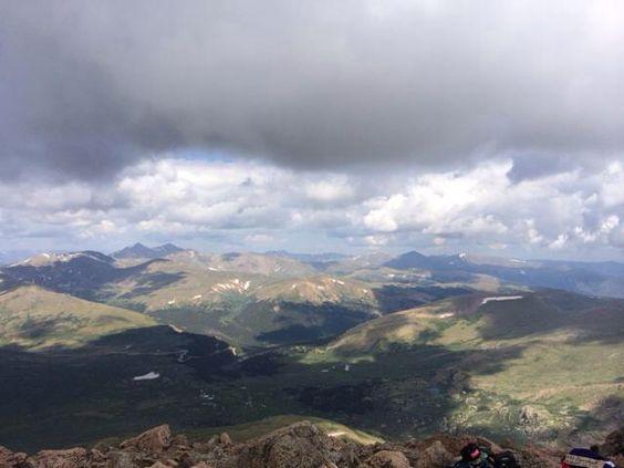 Top of Mt. Bierstadt! Colorado 14er