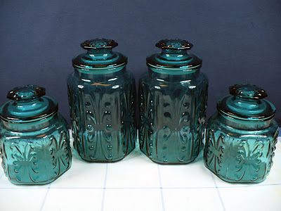 canisters glass canisters and canister sets on pinterest turquoise kitchen canister set gre stuffgre stuff