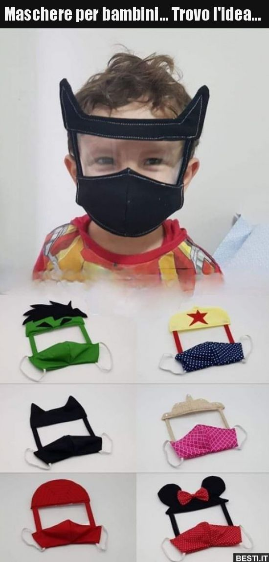 42+ Maschera viso fai da te per bambini ideas