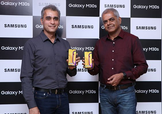 Samsung Launches Galaxy M30s, M10s in India