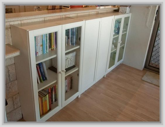ikea billy bookcases and doors on pinterest. Black Bedroom Furniture Sets. Home Design Ideas