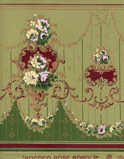 wallpaper border victorian slate - photo #17