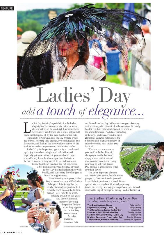 ISSUU - London Life Magazine April 2015 by fishmedia