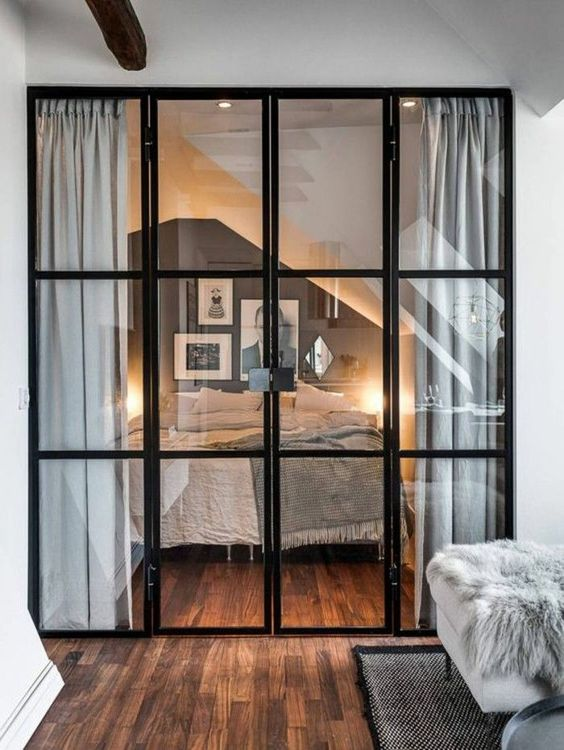 meubler un studio 20m2 voyez les meilleures id es en 50 photos retro chic chic and comment. Black Bedroom Furniture Sets. Home Design Ideas