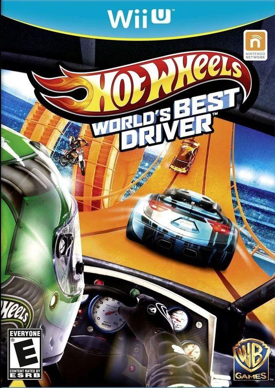 HOT WHEELS WORLDS BEST DRIVER WII U in Video Games & Consoles, Video Games | eBay