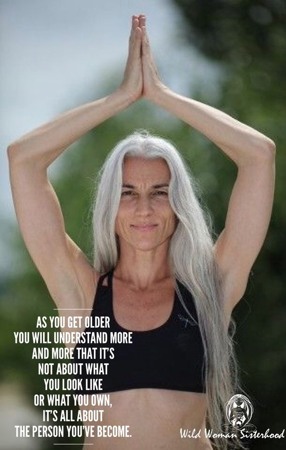 As you get older you will understand more and more that it's not about what you look like or what you own, it's all about the person you've become. WILD WOMAN SISTERHOOD⢠#ageingabundantly #wildwomansisterhood