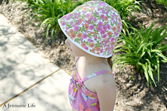 Camper Hat Pattern and Tutorial