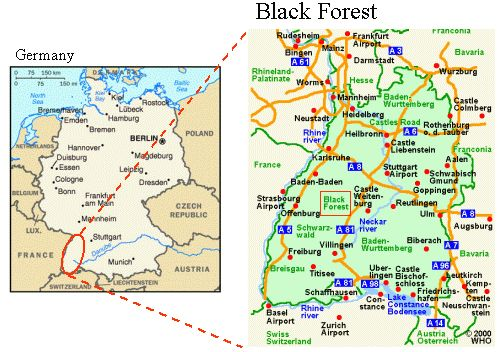 Black forest tourist attractions frankfurt maps cities centre black forest map google search the butterfly blessinga work in progress gumiabroncs Gallery