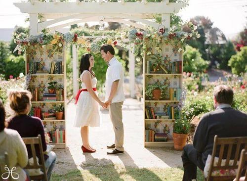 a bookish wedding!