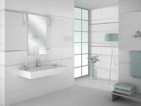 white tile bathroom - creditrestore