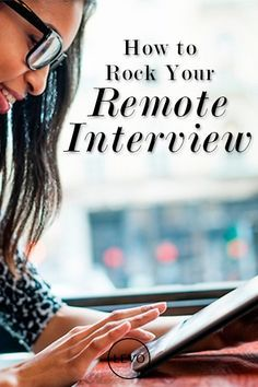 Working remotely is very quickly becoming the norm. Are you ready for the remote #interview?