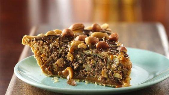 Salted Caramel & Chocolate Peanut Butter Pie