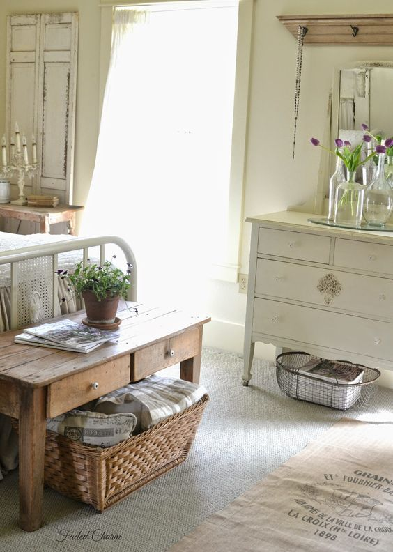 Faded Charm Farmhouse Storage
