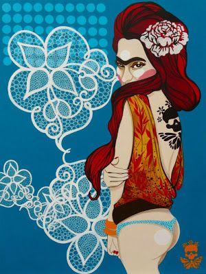 moscabranca: Frida Kahlo revisitada