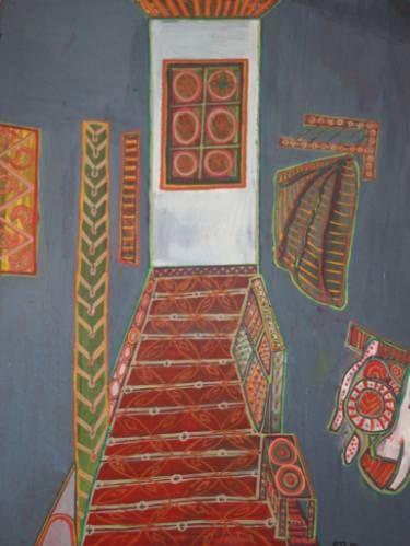 """Daniela Neumann; Painting, """"Corridor"""""""