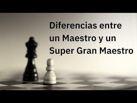 Diferencias Entre Un Maestro Y Un Super Gran Maestro De Ajedrez Carlsen Ding In 2020 Chess Moves Chess Game How To Find Out