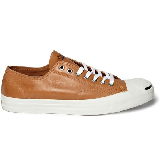 leather, jack purcell