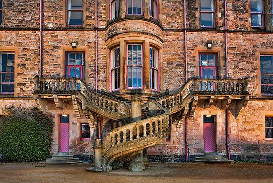 Belfast Castle staircase