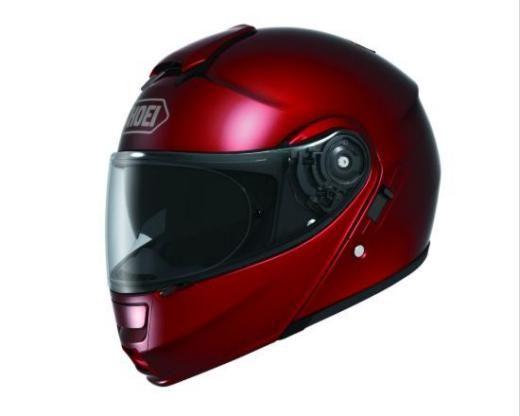 SHOEI NEOTEC WINE RED Motorcycle Helmets - Arai, AGV & Shoei Helmets