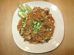 chef-boyar-deak. : pad thai spaghetti squash.