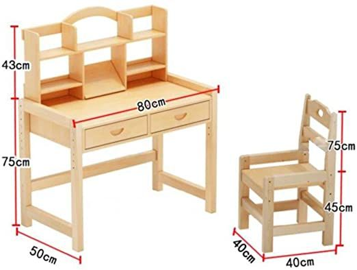 Children S Table And Chair Wooden Children Study Table Kids School Workstation In 2020 Kids Table And Chairs Childrens Table Kids Study Table