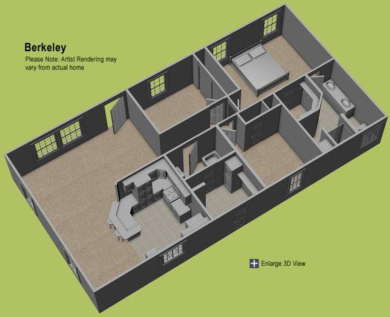 3d double wide floor plans Google Search house plans