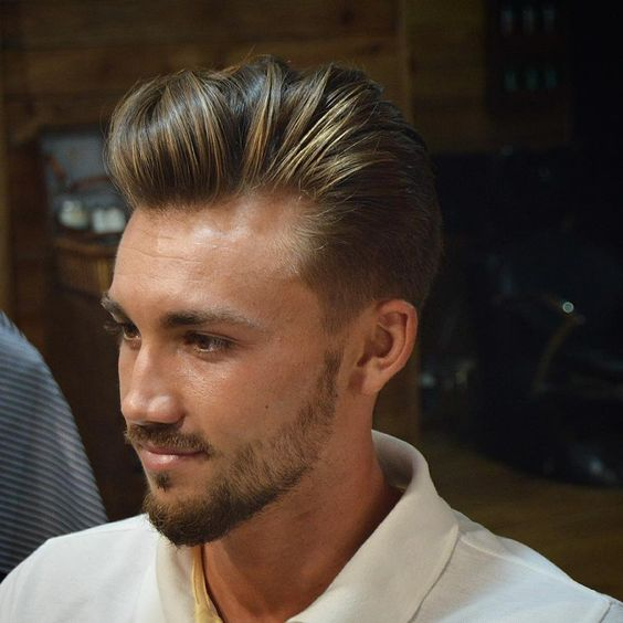 nice 50 Magnetizing Men's Hairstyles for Thick Hair - Making It Natural and Sensational Check more at http://stylemann.com/best-hairstyles-for-thick-hair/