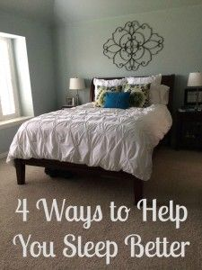 4 Changes to your bedroom for a better nights sleep