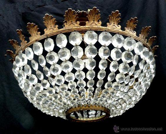 Cristales redondos para lamparas de ara a buscar con - Cristales para techos ...