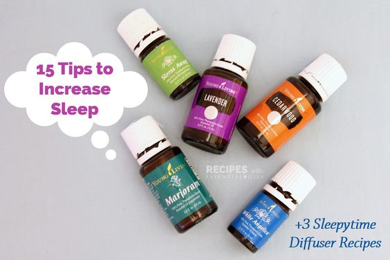 15 Tips to Increase Sleep + 3 Sleepytime Diffuser Recipes - Recipes with Essential Oils