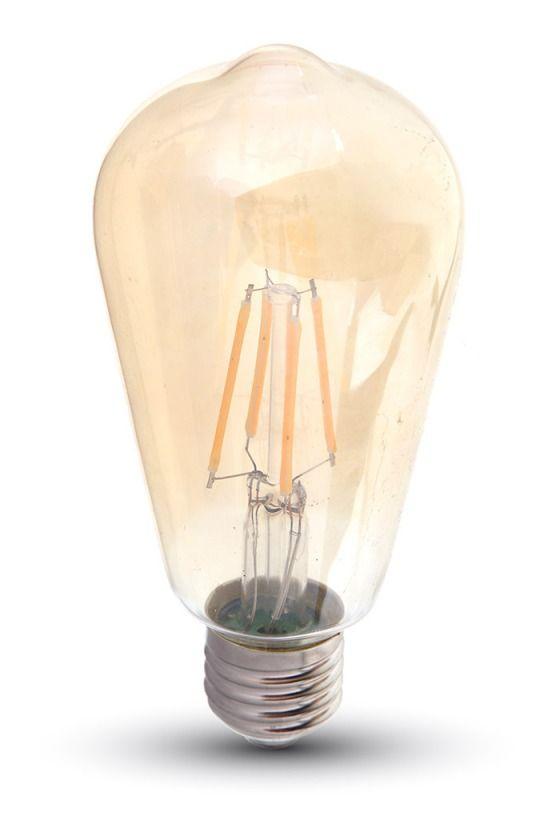V Tac Vt 1964 Ampoule Led E27 4w Bulbeux St64 Filament Sku 4361