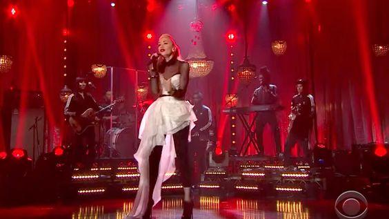 Watch Gwen Stefani's Vibrant 'Make Me Like You' on 'Late Late Show' #headphones #music #headphones