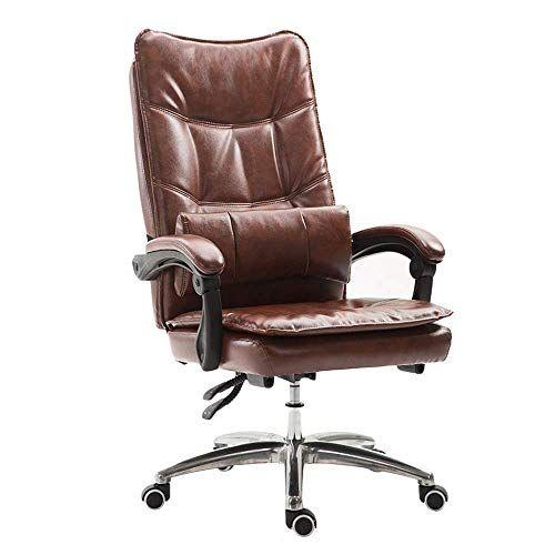 Swivel Chair Mid Back Pu Computer Executive Office Chair Modern And Ergonomic Design Adjustable Seat Heigh Executive Office Chairs Office Chair Swivel Chair