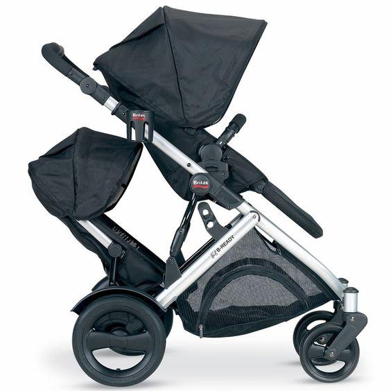 Britax B-Ready Stroller & Second Seat - Black