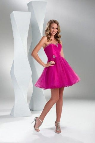 I like this shade of pink and this dress!!!