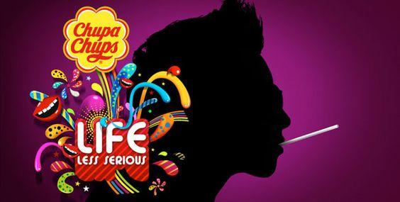 Chupa Chups campaign by Ondrej Kroupa, via Behance