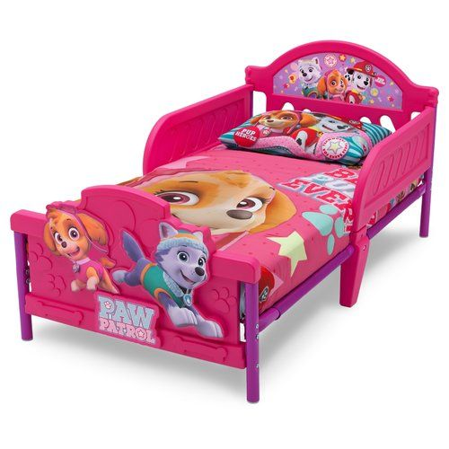 Paw Patrol Plastic Toddler Bed Frame Paw Patrol Kids Toddler Bed Unicorn Toddler Bedding Paw Patrol Room Decor