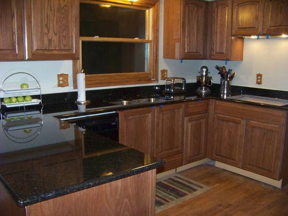 Granite Countertops | Granite Countertops Charlotte Nc 2 Black Pearl Granite  Countertops .