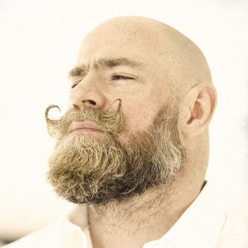 50+ Mustache styles for bald guys inspirations