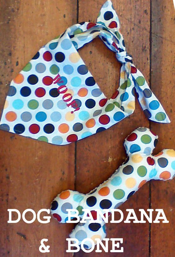 Sewing patterns toys and patterns on pinterest for Dog bandana template