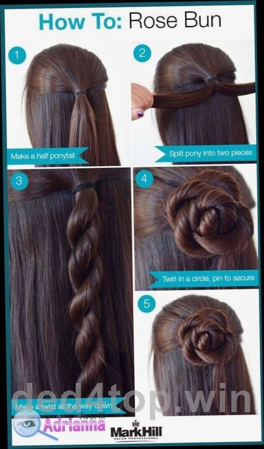 Easy Hairstyles For Medium Length Hair To Do At Home Easy Hairstyles For Medium Length Hair To Do Medium Length Hair Styles Hair Styles Easy Hairstyles