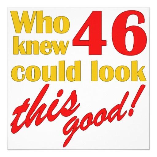Happy 46th Birthday | Holidays, Anniversaries & Birthdays ...
