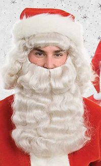 Deluxe Santa Beard & Wig