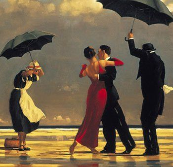 Whether you manage to catch this rare showing of Jack Vettriano's Singing Butler or not, be sure to investigate this Fife-born artist. The West Sands feature  prominently in his work--The Singing Butler is the most renowned example!