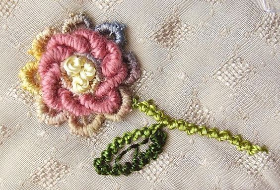"""""""TAST 3"""" Couching with """"Bullions 