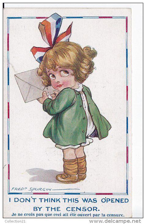 Postcards > Topics > Illustrators & photographers > Illustrators - Signed > Spurgin, Fred - Delcampe.net: